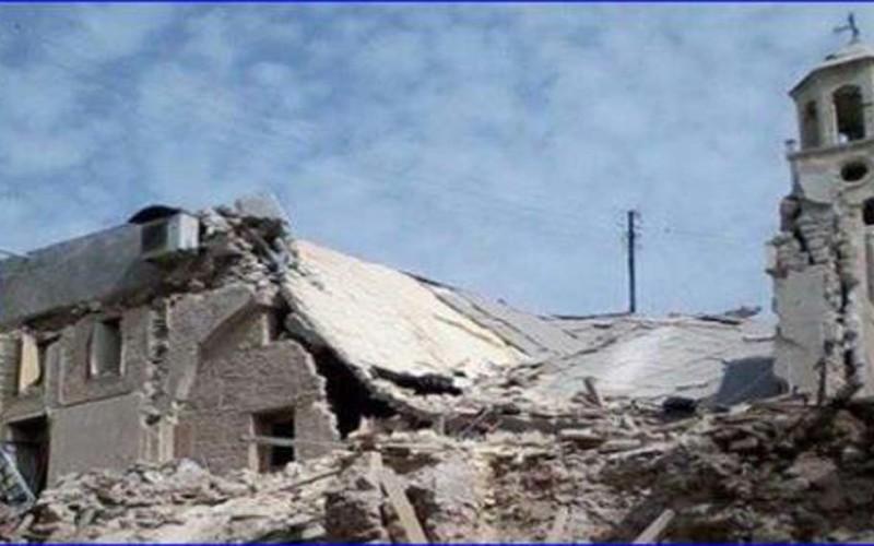 സിറിയയിലെ ആഭ്യന്തര യുദ്ധം: 63 സഭാ ഹാളുകള് തകര്ക്കപ്പെട്ടു